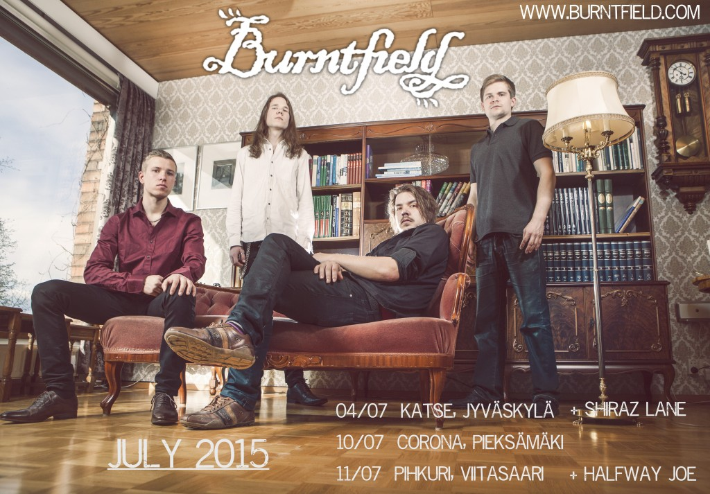 Burntfield July shows fbcover